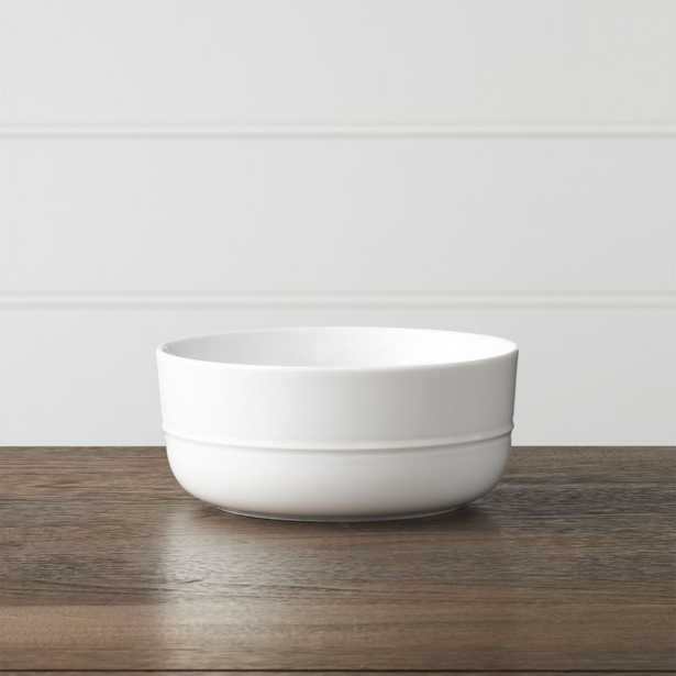 Hue White Bowl - Crate and Barrel