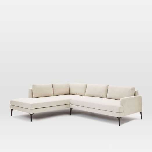 Andes Terminal Chaise Sectional - Left Terminal Chaise 2-piece sectional - West Elm