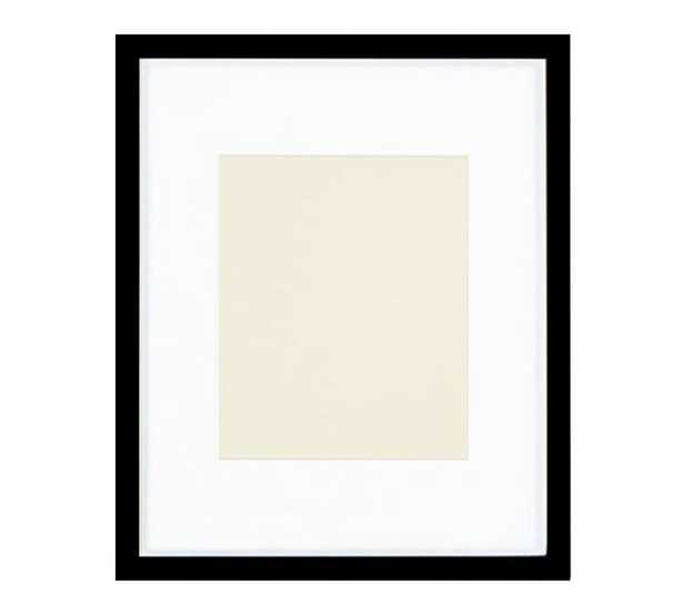 Wood Gallery Single Opening Frame 8X10 - Black - Pottery Barn