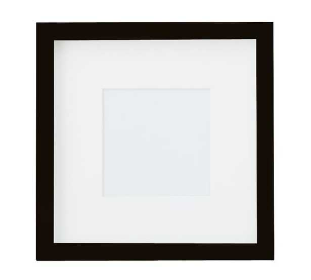 Wood Gallery Single Opening Frame 5X5 - Black - Pottery Barn
