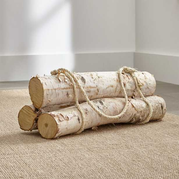Birch Logs, Set of 3 - Crate and Barrel