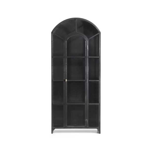 Ventana Glass Display Cabinet (back in stock early July) - Crate and Barrel