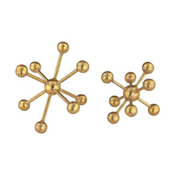 Golden Molecules (SET OF 2) - Lulu and Georgia