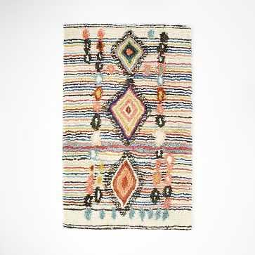 Charm Wool Rug, Multi, 5'x8' - West Elm