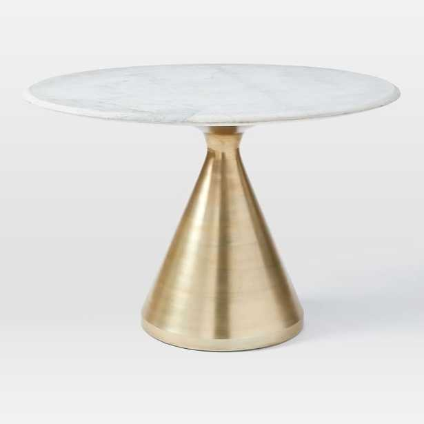 Silhouette Pedestal Dining Table - West Elm