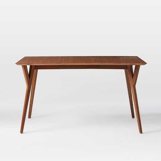 "Mid-Century Expandable Dining Table - Medium (60""-80"")- Walnut - West Elm"