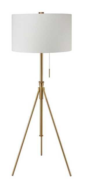 "Baristo 72"" LED Tripod Floor Lamp - Wayfair"