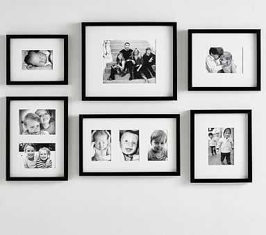 Gallery in a Box, Black - Pottery Barn Kids