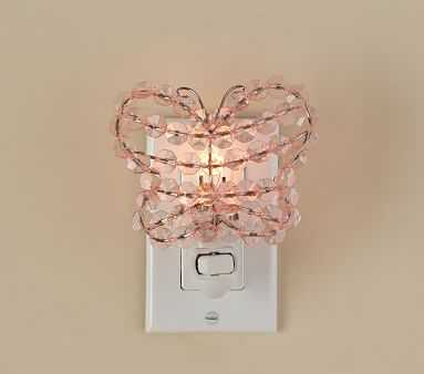 Crystal Butterfly Nightlight - Pottery Barn Kids