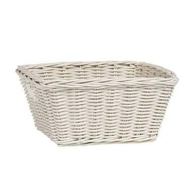 Sabrina Basket, Medium, Simply White - Pottery Barn Kids