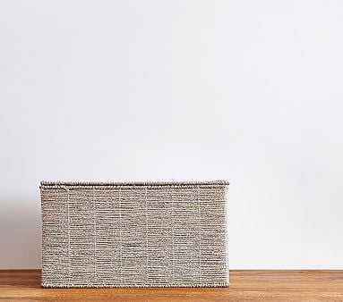 Silver Rope Toy Chest - Pottery Barn Kids