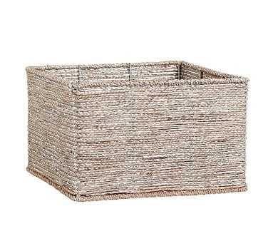 Silver Rope Basket Large - Pottery Barn Kids