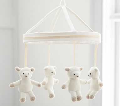Harper Lamb Crib Mobile - Pottery Barn Kids