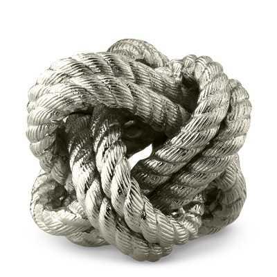 Nautical Knot, Nickel - Williams Sonoma