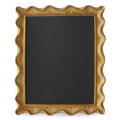 "AERIN Gold Scalloped Gallery Frame, 11"" X 14"" - Williams Sonoma"