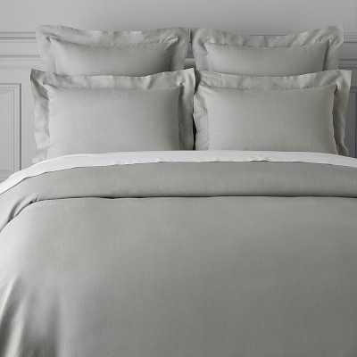 Signature Linen Bedding, Duvet, King/Cal King, Gray - Williams Sonoma