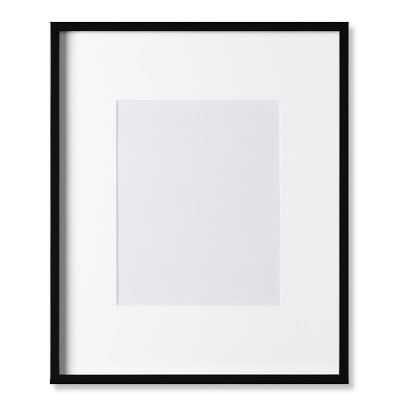 "Black Lacquer Gallery Picture Frame, 8"" X 10"" - Williams Sonoma"