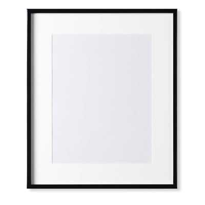 "Black Lacquer Gallery Picture Frame, 11"" X 14"" - Williams Sonoma"