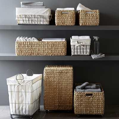 Nantucket Woven Seagrass Shelf Basket, Medium - Williams Sonoma