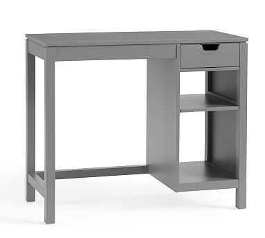 Windsor Modular Desk, Slate Gray - Pottery Barn