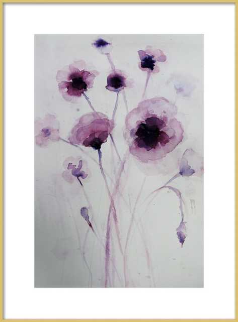 Purple Poppies - Artfully Walls