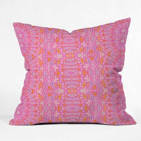 """CASABLANCA HOT PINK - 20"""" x 20"""" - With Insert - Wander Print Co."""