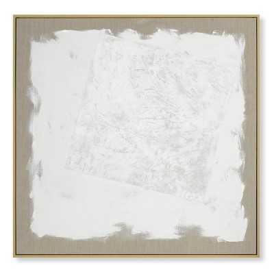 Handpainted Tonal Abstract - Williams Sonoma