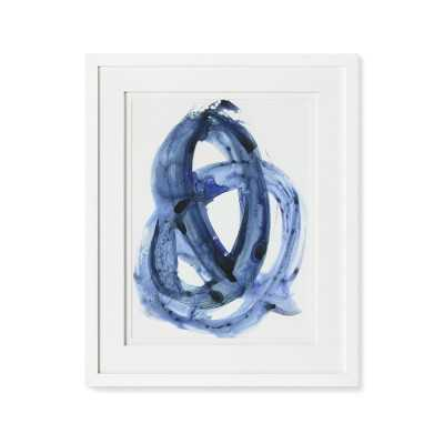 Blue Abstract Series, 1 - Williams Sonoma