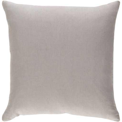 "Ethiopia ETPA-7209 Pillow 18x18"" with down insert - Neva Home"