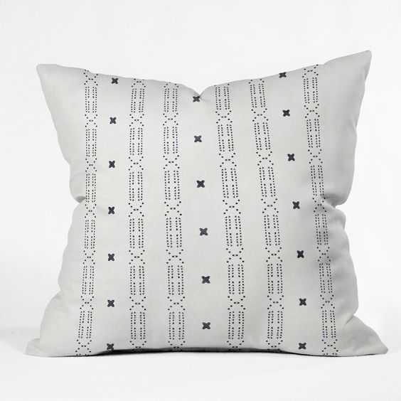 "MALA Throw Pillow - 18"" x 18"" - White Insert - Wander Print Co."