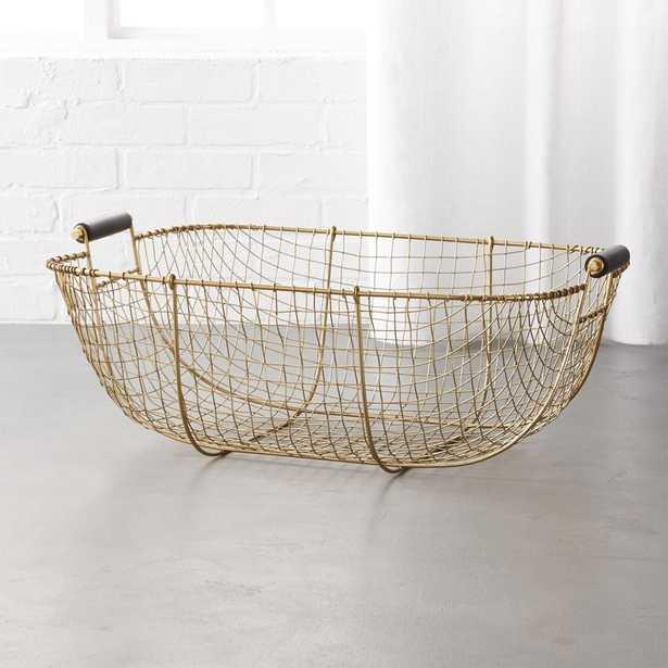 Bounty Small Wire Basket - CB2