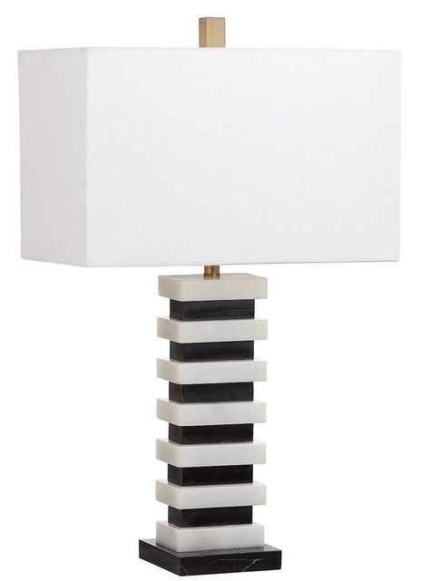 HUGO MARBLE 26.5-INCH H TABLE LAMP  TBL4008A - Arlo Home