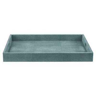 Rectangle Resin and Polyester Tray - Wayfair