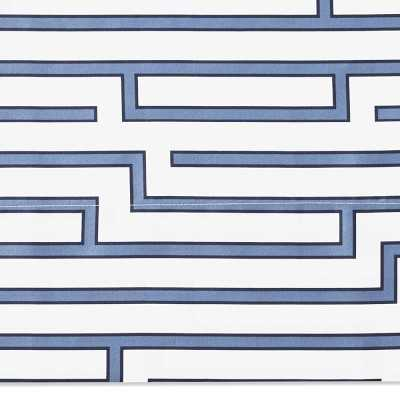 Maze Printed Sheet, Sheet Set, Queen, Blue - Williams Sonoma