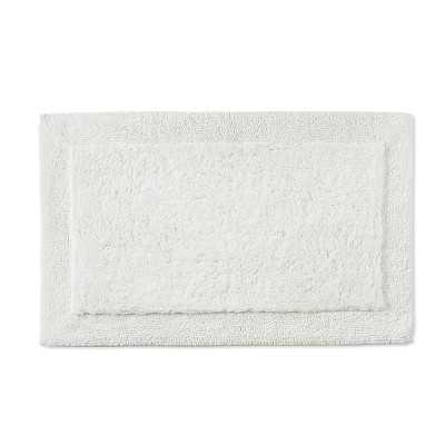 Border Bath Mat, Small, White - Williams Sonoma