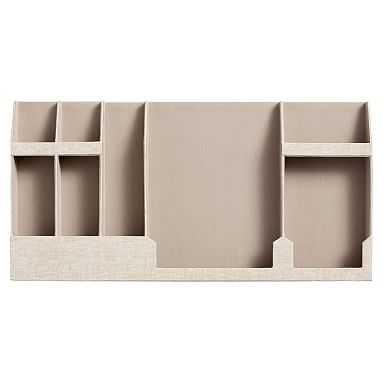 Fabric Wall Organizer, Double, Linen - Pottery Barn Teen