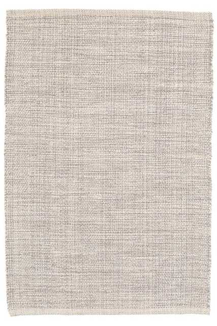 MARLED GREY WOVEN COTTON RUG - 4' x 6' - Dash and Albert