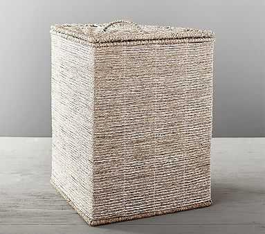 Silver Rope Corner Basket - Pottery Barn Kids