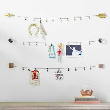 Decorative Cable System, Gold Arrow - Pottery Barn Teen