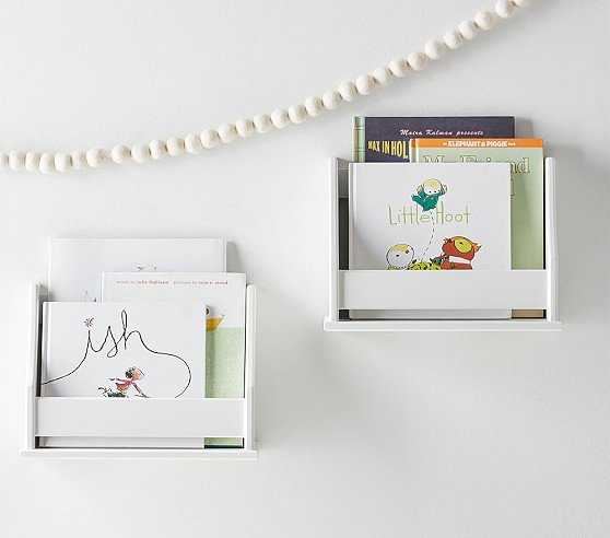 Collector's Mini Book Rack Shelf - Pottery Barn Kids