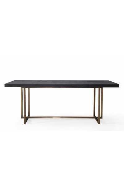 Lola Black Table - Maren Home