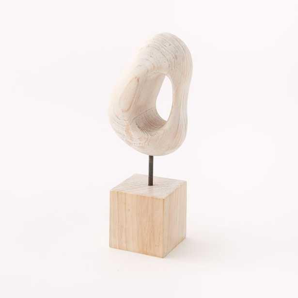 Whitewashed Wood Object - West Elm