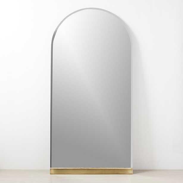 "gloss floor mirror 39""x79"" - CB2"