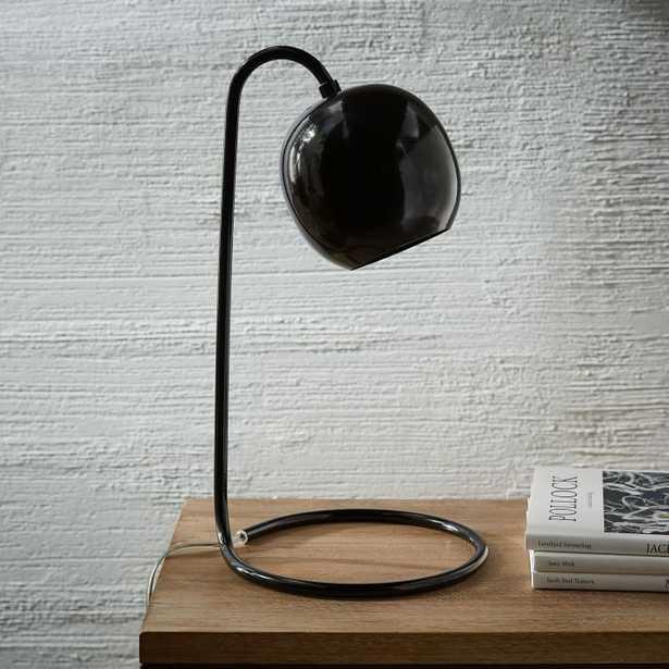 Scoop Table Lamp - Black - West Elm
