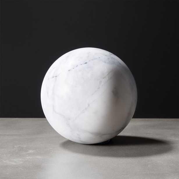 White Marble Sphere RESTOCK aerly July 2021 - CB2