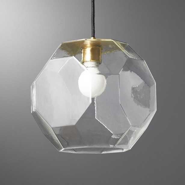 Flat Glass Pendant Light - CB2