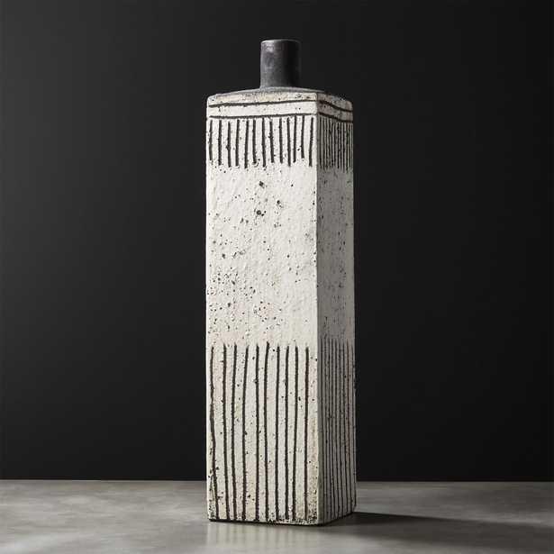Empoli Tall Rectangular Vase - CB2