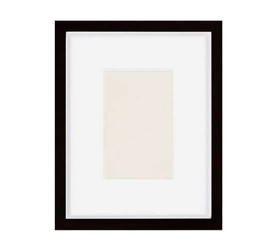 Wood Gallery Single Opening Frame 5X7 - Black - Pottery Barn