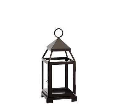 Malta Lantern - Bronze Finish, Small - Pottery Barn