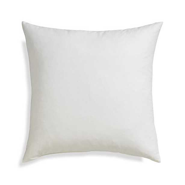 """Feather-Down 20"""" Pillow Insert - Crate and Barrel"""